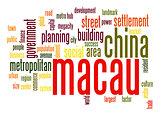 Macau word cloud