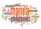 Manila word cloud