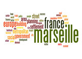 Marseille word cloud