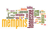Memphis word cloud