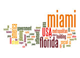 Miami word cloud