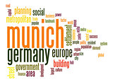 Munich word cloud