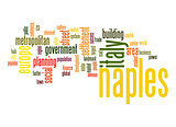 Naples word cloud
