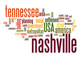 Nashville word cloud