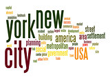 New York City word cloud