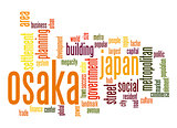 Osaka word cloud
