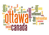 Ottawa word cloud