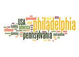 Philadelphia word cloud