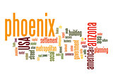 Phoenix word cloud