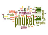 Phuket word cloud
