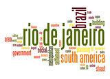Rio de Janeiro word cloud