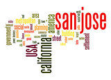 San Jose word cloud