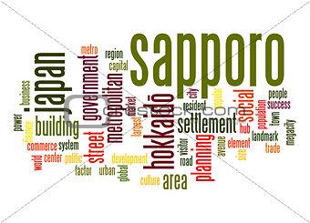 Sapporo word cloud