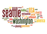 Seattle word cloud