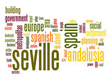 Seville word cloud