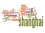 Shanghai word cloud