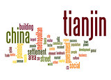 Tianjin word cloud