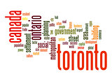 Toronto word cloud