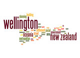 Wellington word cloud
