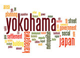 Yokohama word cloud