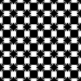 Design seamless monochrome tetragon pattern. Abstract geometric