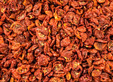 Dried and sliced tomatoes