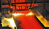 Hot metal cutting