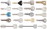 set of different door keys