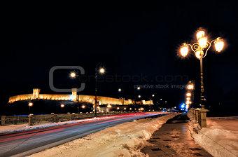 Skopje night scene
