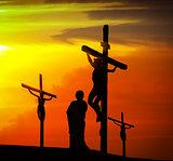 Calvary crucifixion