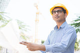Indian site contractor engineer