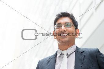 Portrait of Asian Indian businessman