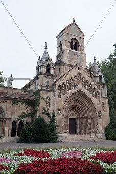 Chapel in the Castle of Vajdahunyad in Budapest, Hungary