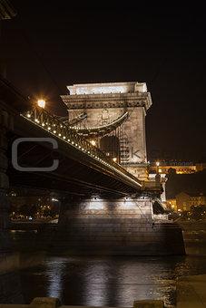 Chain Bridge in Budapest