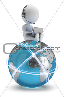 3d small people - global network
