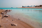 Shallowing of Dead Sea,  Israel