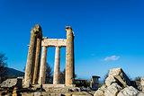 Temple of Zeus in the ancient Nemea
