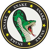 snake coat of arms