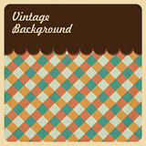 Vintage Background with Grunge Texture. Top Menu