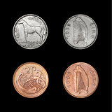 Set of coins of Ireland