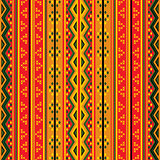 Geometric tribal pattern