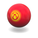 Kyrgyzstan flag