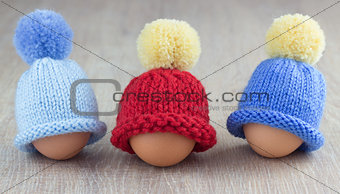 three egg warmers