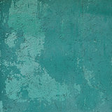 abstract grunge blue green wall backdrop