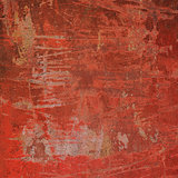 abstract grunge red pink wall backdrop