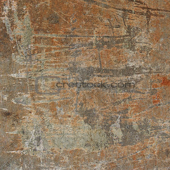 3d abstract industrial grunge wall backdrop