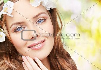Blue-eyed spring