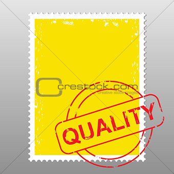 postage stamp quality