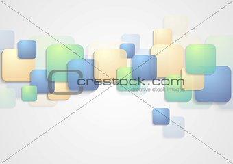 Bright squares vector design