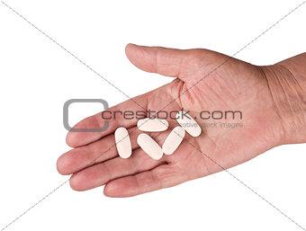 A hand-arginine